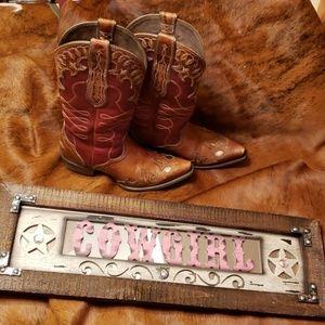 Ariat Womens Zealous Snip Toe Cowboy Boots Gingers